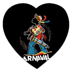 Carnaval  Jigsaw Puzzle (heart) by Valentinaart