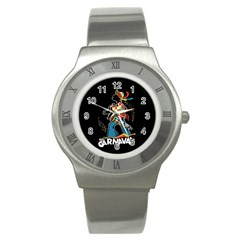 Carnaval  Stainless Steel Watch by Valentinaart