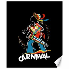 Carnaval  Canvas 8  X 10  by Valentinaart
