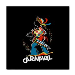 Carnaval  Face Towel by Valentinaart