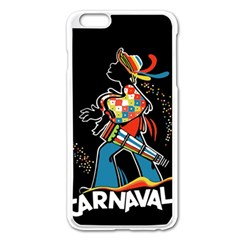 Carnaval  Apple Iphone 6 Plus/6s Plus Enamel White Case by Valentinaart