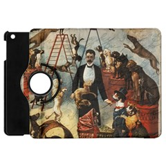 Dog Circus Apple Ipad Mini Flip 360 Case by Valentinaart