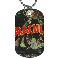 Dracula Dog Tag (two Sides) by Valentinaart