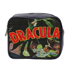 Dracula Mini Toiletries Bag 2 Side by Valentinaart