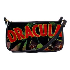 Dracula Shoulder Clutch Bags by Valentinaart