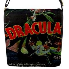 Dracula Flap Messenger Bag (s) by Valentinaart