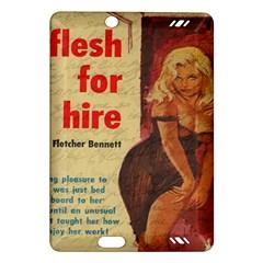 Vintage Girl Amazon Kindle Fire Hd (2013) Hardshell Case by Valentinaart