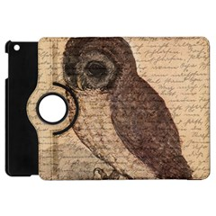 Vintage Owl Apple Ipad Mini Flip 360 Case by Valentinaart