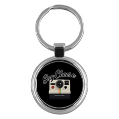 Say Cheese Key Chains (round)  by Valentinaart