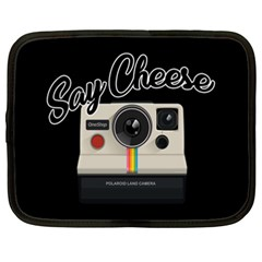 Say Cheese Netbook Case (xxl)  by Valentinaart