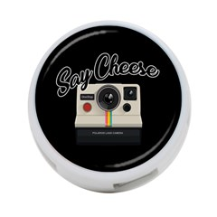 Say Cheese 4 Port Usb Hub (one Side) by Valentinaart