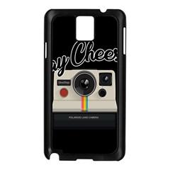 Say Cheese Samsung Galaxy Note 3 N9005 Case (black) by Valentinaart