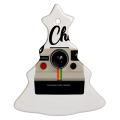 Say Cheese Ornament (christmas Tree)  by Valentinaart
