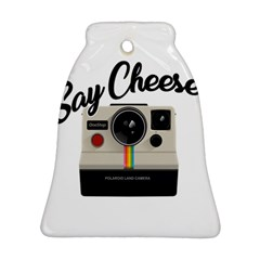 Say Cheese Bell Ornament (two Sides) by Valentinaart