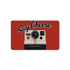 Say Cheese Magnet (name Card) by Valentinaart