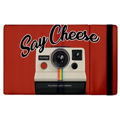 Say Cheese Apple Ipad 2 Flip Case by Valentinaart