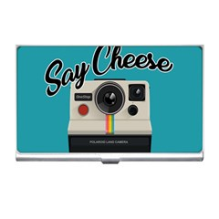 Say Cheese Business Card Holders by Valentinaart