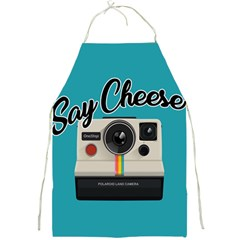 Say Cheese Full Print Aprons by Valentinaart
