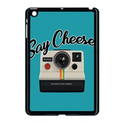 Say Cheese Apple Ipad Mini Case (black) by Valentinaart