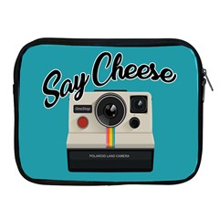 Say Cheese Apple Ipad 2/3/4 Zipper Cases by Valentinaart