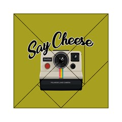 Say Cheese Acrylic Tangram Puzzle (6  X 6 ) by Valentinaart