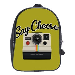 Say Cheese School Bags (xl)  by Valentinaart