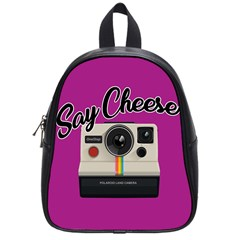 Say Cheese School Bags (small)  by Valentinaart