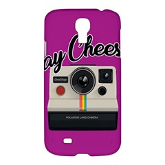 Say Cheese Samsung Galaxy S4 I9500/i9505 Hardshell Case by Valentinaart