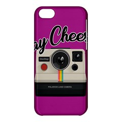 Say Cheese Apple Iphone 5c Hardshell Case by Valentinaart