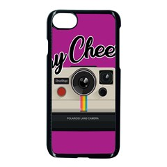 Say Cheese Apple Iphone 7 Seamless Case (black) by Valentinaart