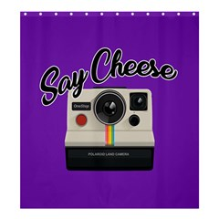 Say Cheese Shower Curtain 66  X 72  (large)  by Valentinaart