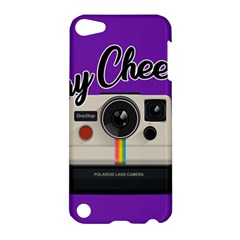 Say Cheese Apple Ipod Touch 5 Hardshell Case by Valentinaart