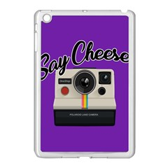 Say Cheese Apple Ipad Mini Case (white) by Valentinaart