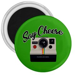 Say Cheese 3  Magnets by Valentinaart