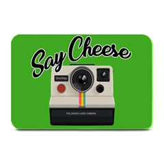 Say Cheese Plate Mats by Valentinaart
