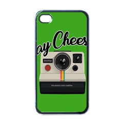 Say Cheese Apple Iphone 4 Case (black) by Valentinaart