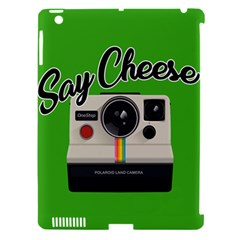 Say Cheese Apple Ipad 3/4 Hardshell Case (compatible With Smart Cover) by Valentinaart