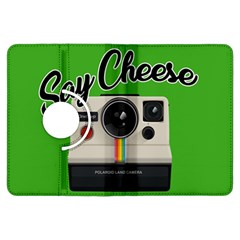 Say Cheese Kindle Fire Hdx Flip 360 Case by Valentinaart