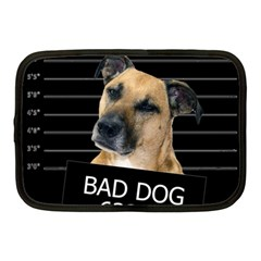 Bed Dog Netbook Case (medium)  by Valentinaart
