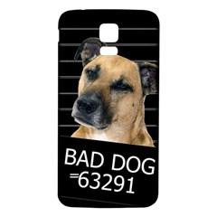 Bed Dog Samsung Galaxy S5 Back Case (white) by Valentinaart
