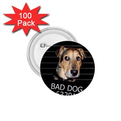 Bed Dog 1 75  Buttons (100 Pack)  by Valentinaart