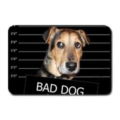 Bed Dog Plate Mats by Valentinaart