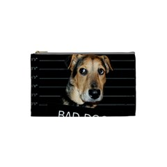 Bed Dog Cosmetic Bag (small)  by Valentinaart