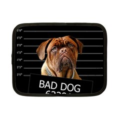 Bed Dog Netbook Case (small)  by Valentinaart