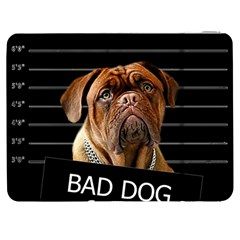 Bed Dog Samsung Galaxy Tab 7  P1000 Flip Case by Valentinaart