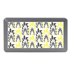 Tricolored Geometric Pattern Memory Card Reader (mini) by linceazul