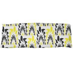 Tricolored Geometric Pattern Body Pillow Case Dakimakura (two Sides) by linceazul