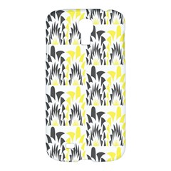 Tricolored Geometric Pattern Samsung Galaxy S4 I9500/i9505 Hardshell Case by linceazul