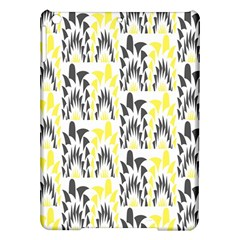 Tricolored Geometric Pattern Ipad Air Hardshell Cases by linceazul