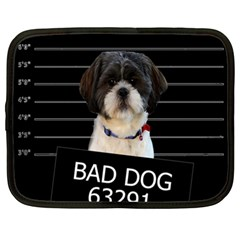 Bad Dog Netbook Case (xl)  by Valentinaart